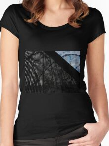 Keeping Our Skies Safe And Secure Women's Fitted Scoop T-Shirt