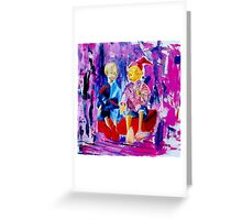 Brothers Pinocchio  Greeting Card