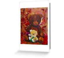 Misio and the little one Greeting Card