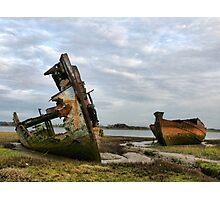 Fleetwood Wrecks. Photographic Print