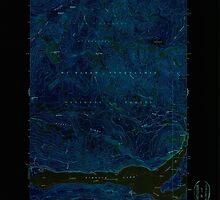 USGS Topo Map Washington State WA Rimrock Lake 243461 1967 24000 Inverted by wetdryvac
