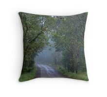 Misty Morning • Guy Fawkes River National Park • New South Wales Throw Pillow