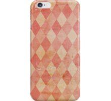 Harlequin - Vintage iPhone Case/Skin