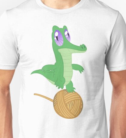 Fluttershy's Pet Alligator, Gummy! Unisex T-Shirt