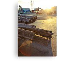 Docklands Sunset Canvas Print