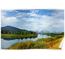 Wyoming Vista Poster