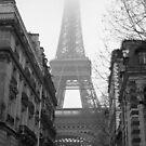 Eiffel Tower iPhone 4 Case by Michael Eyssens