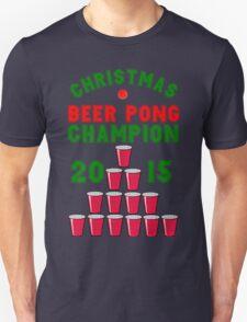 CHRISTMAS BEER PONG CHAMPION T-Shirt
