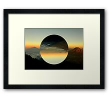 MountainLand Framed Print