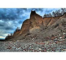 """ Fair Haven Bluffs - Sterling, NY "" Photographic Print"