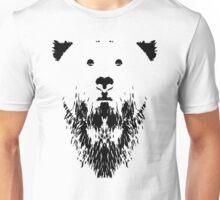 Rorschach Bear Unisex T-Shirt