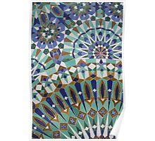 Moroccan Tiles Poster