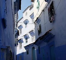 Chefchaouen Alley by Camilla