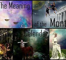 The Meaning of the Months Calendar by Vanessa Barklay