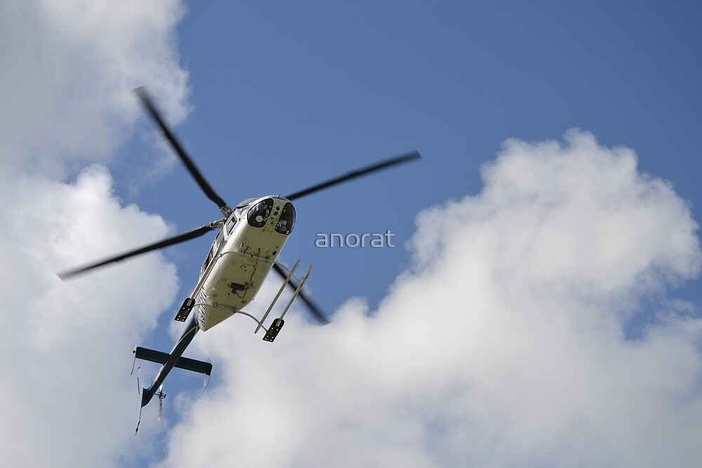 Bell UH-13H on approach by anorat