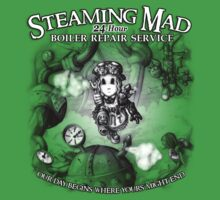 Steaming Mad Boiler Repair One Piece - Short Sleeve