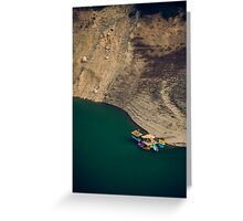 Colourful Boats Greeting Card