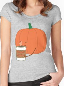 Human Spice Latte Women's Fitted Scoop T-Shirt