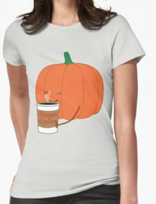 Human Spice Latte Womens Fitted T-Shirt