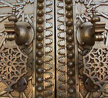 Fes Palace Door II by Camilla