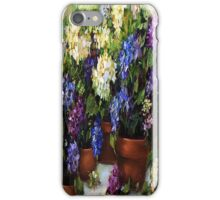 Hydrangea Garden iPhone Case iPhone Case/Skin