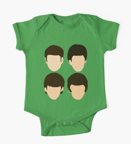 The Beatles - Minimalistic One Piece - Short Sleeve