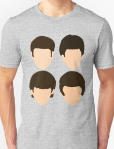 The Beatles - Minimalistic Unisex T-Shirt