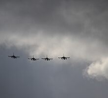 F-16's over Homestead-Miami Speedway by anorat