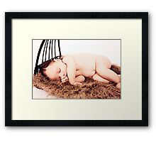 A Basket Full of Love Framed Print