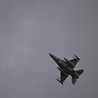 F-16 on turn to Final Approach at Homestead ARB by anorat