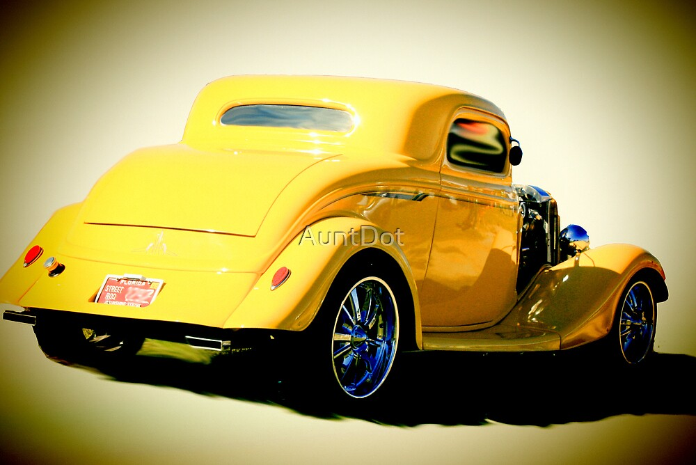 1934 Ford Coupe Hotrod by AuntDot