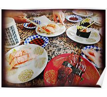 Sushi Feast Poster