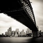Sydney black&amp;white cityscape II by Kimmo Savolainen