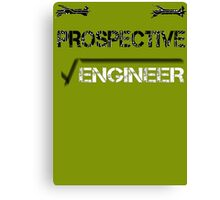 Prospective Engineer Canvas Print