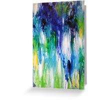 Nuance Verde. 30 x 40. Greeting Card