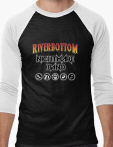 Riverbottom Nightmare Band Men's Baseball ¾ T-Shirt