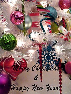 Ornaments Christmas Card by R&PChristianDesign &Photography