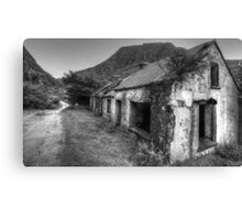 Abandoned in the Gap Canvas Print