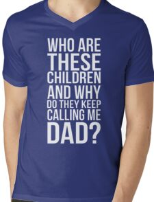 who are these children Mens V-Neck T-Shirt