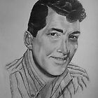 """Dean Martin """"King of Cool"""" - Pencil Sketch by Anthony Superina"""