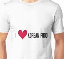 I love Korean Food Unisex T-Shirt