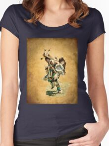 Indian Dance Women's Fitted Scoop T-Shirt