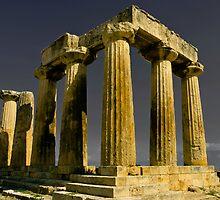 Temple of Zeus by photosbyflood