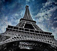 Eiffel Tower. France by Lyn Darlington