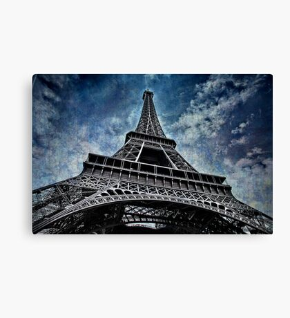 Eiffel Tower. France Canvas Print