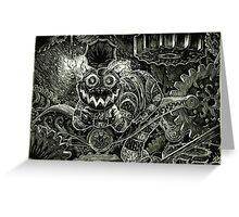 Cheshire Cat Greeting Card
