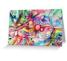 Nice Clowns You Got There - Watercolor Painting Greeting Card
