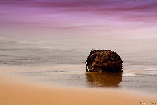 Solitary colour version by Darren Clarke