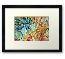 Estimating - Watercolor Painting Framed Print