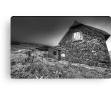 Irish Famine Cottage Canvas Print